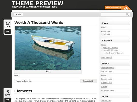 50 Minimalist And Stylish Free Wordpress Themes 49