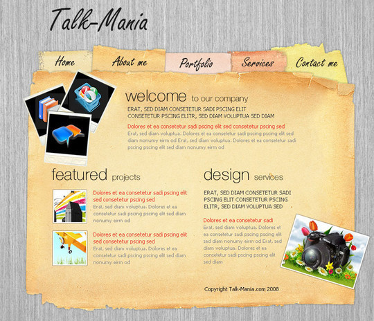 50 Truly Eye-Catching And Detailed Web Layout Tutorials 27