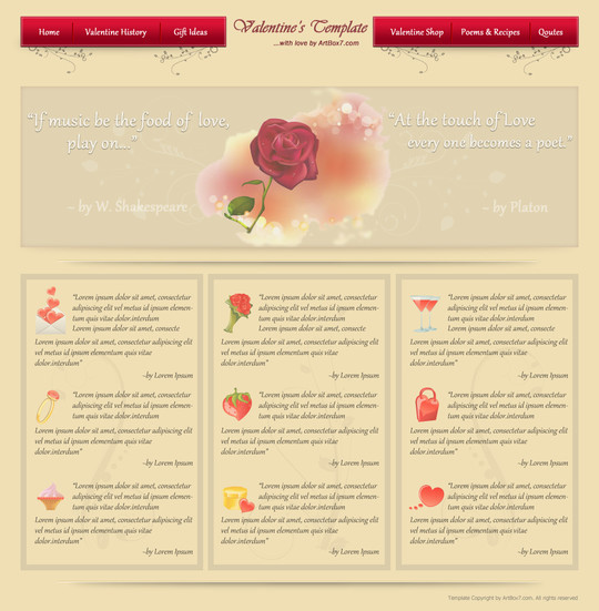 50 Truly Eye-Catching And Detailed Web Layout Tutorials 29