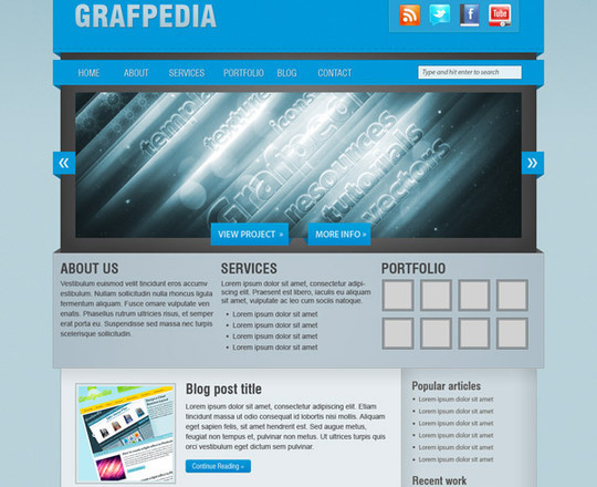 50 Truly Eye-Catching And Detailed Web Layout Tutorials 13