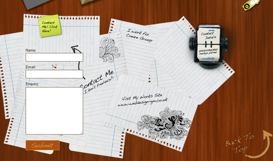 Showcase Of Effective And Creatively Designed Contact Forms 29