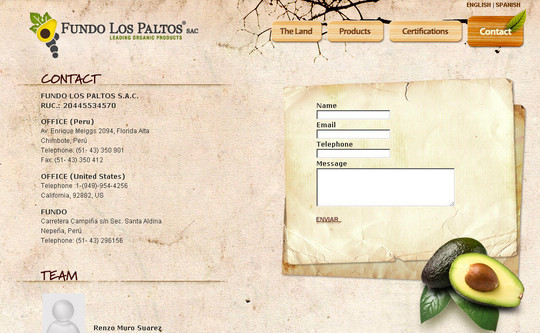 Showcase Of Effective And Creatively Designed Contact Forms 30