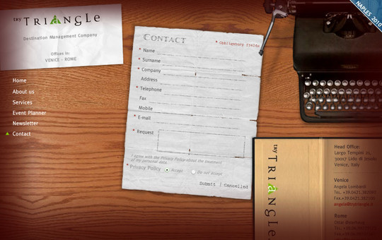 Showcase Of Effective And Creatively Designed Contact Forms 32
