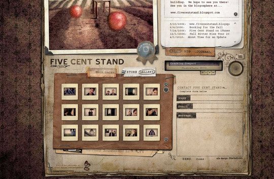 Showcase Of Effective And Creatively Designed Contact Forms 33