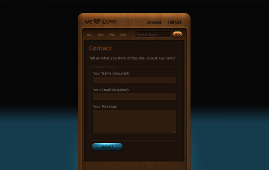 Showcase Of Effective And Creatively Designed Contact Forms 39