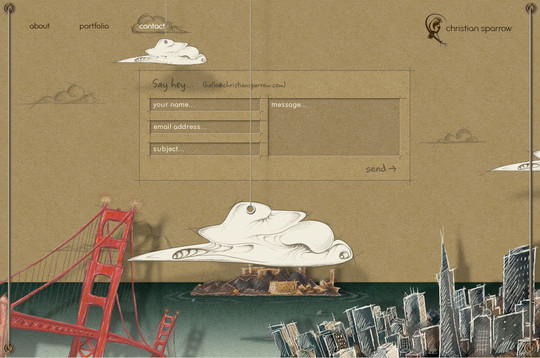 Showcase Of Effective And Creatively Designed Contact Forms 41