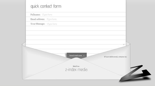 Showcase Of Effective And Creatively Designed Contact Forms 43