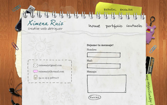 Showcase Of Effective And Creatively Designed Contact Forms 47