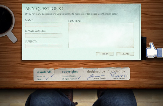 Showcase Of Effective And Creatively Designed Contact Forms 50