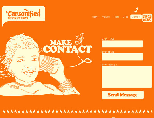 Showcase Of Effective And Creatively Designed Contact Forms 52
