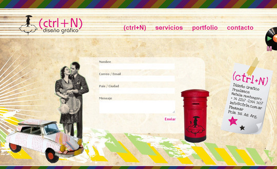 Showcase Of Effective And Creatively Designed Contact Forms 14