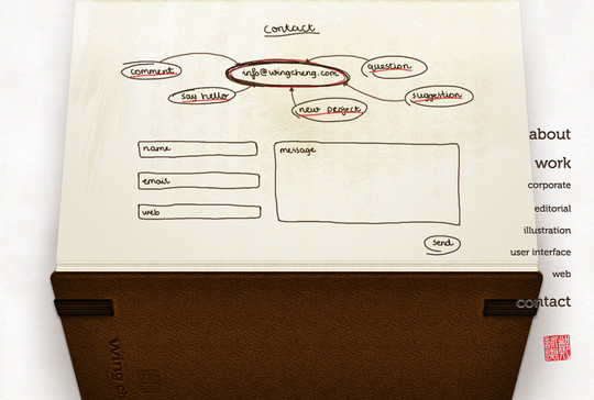 Showcase Of Effective And Creatively Designed Contact Forms 19