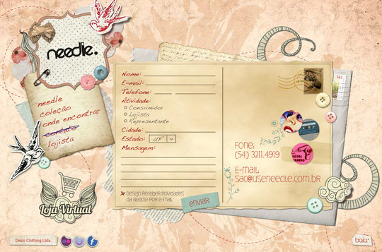 Showcase Of Effective And Creatively Designed Contact Forms 4