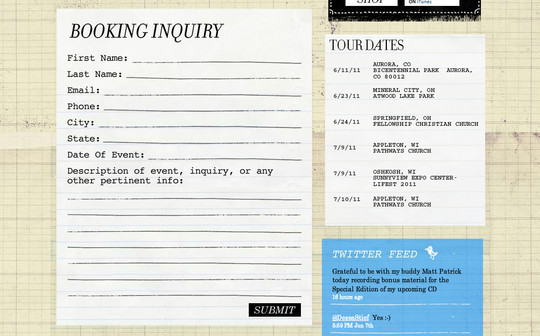 Showcase Of Effective And Creatively Designed Contact Forms 21