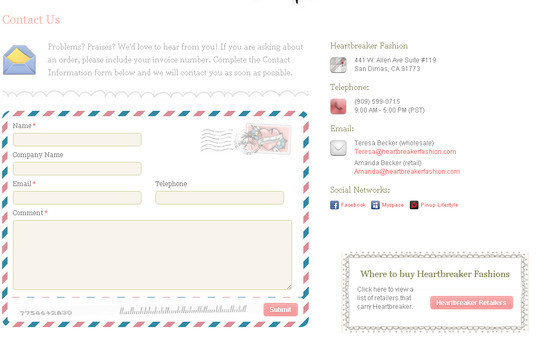 Showcase Of Effective And Creatively Designed Contact Forms 22