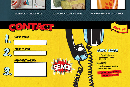 Showcase Of Effective And Creatively Designed Contact Forms 23
