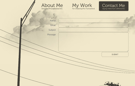 Showcase Of Effective And Creatively Designed Contact Forms 26