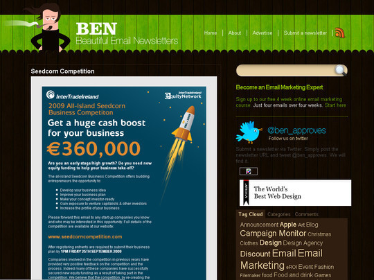 Showcase Of Creative And Effective Email Newsletter Designs 15