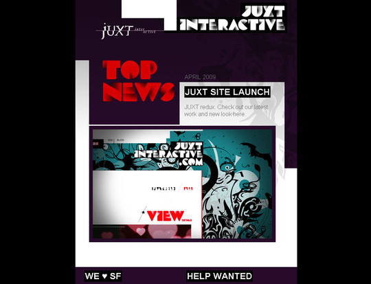 Showcase Of Creative And Effective Email Newsletter Designs 16