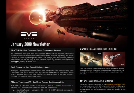 Showcase Of Creative And Effective Email Newsletter Designs 20