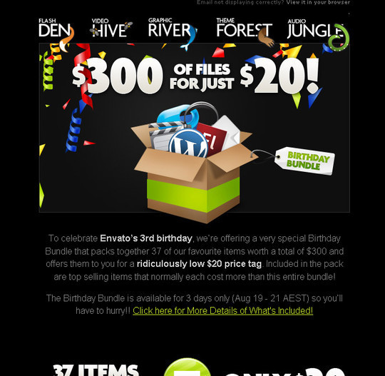 Showcase Of Creative And Effective Email Newsletter Designs 26