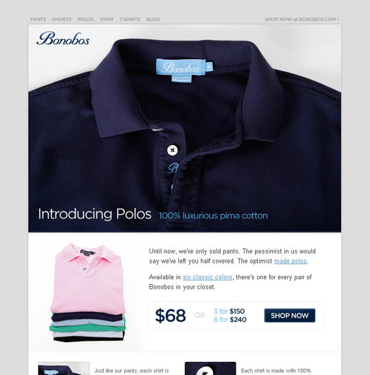 Showcase Of Creative And Effective Email Newsletter Designs 27