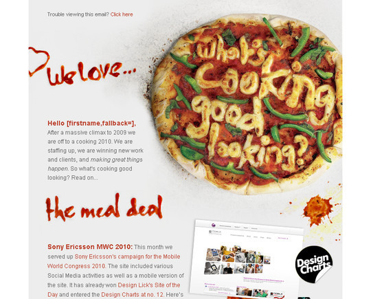 Showcase Of Creative And Effective Email Newsletter Designs 28