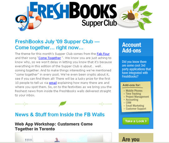 Showcase Of Creative And Effective Email Newsletter Designs 34