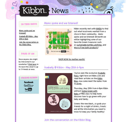 Showcase Of Creative And Effective Email Newsletter Designs 35