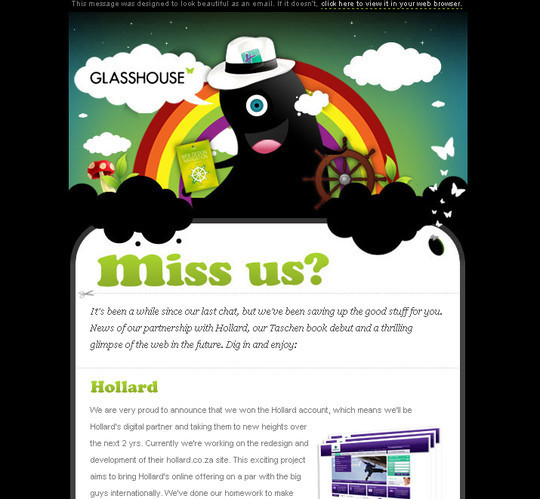 Showcase Of Creative And Effective Email Newsletter Designs 36