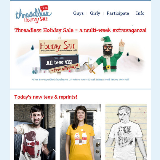 Showcase Of Creative And Effective Email Newsletter Designs 39