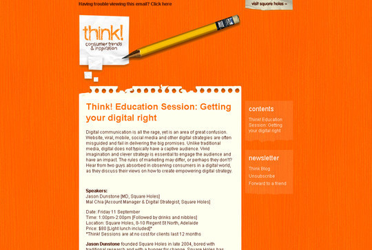 Showcase Of Creative And Effective Email Newsletter Designs 1