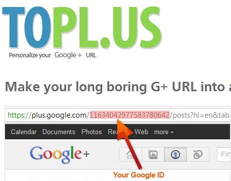 Top 5 Tools To Shorten Your Google Plus Profile URLs 3