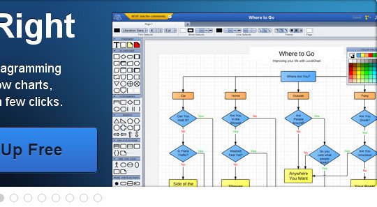 45+ Free Online Tools To Create Charts, Diagrams And Flowcharts 3