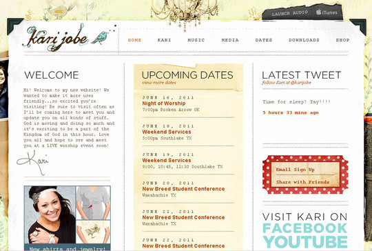 50 Hand Drawn Website Designs For Your Inspiration 15