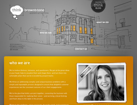 50 Hand Drawn Website Designs For Your Inspiration 6