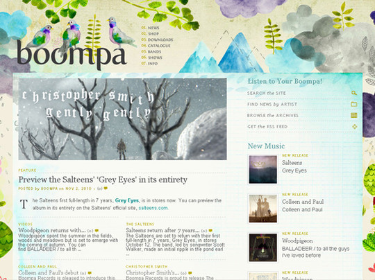50 Hand Drawn Website Designs For Your Inspiration 18