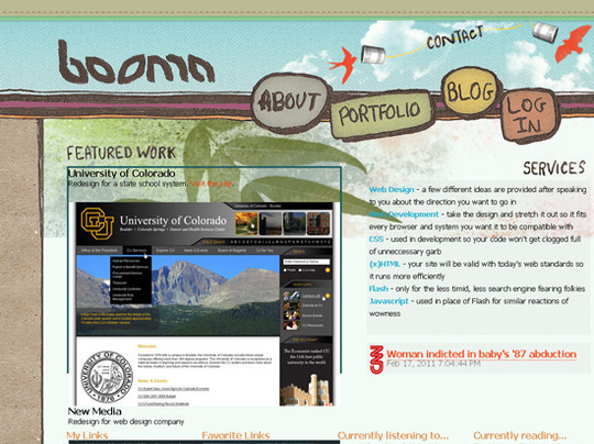 50 Hand Drawn Website Designs For Your Inspiration 22