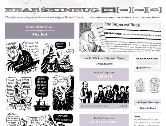 50 Hand Drawn Website Designs For Your Inspiration 24