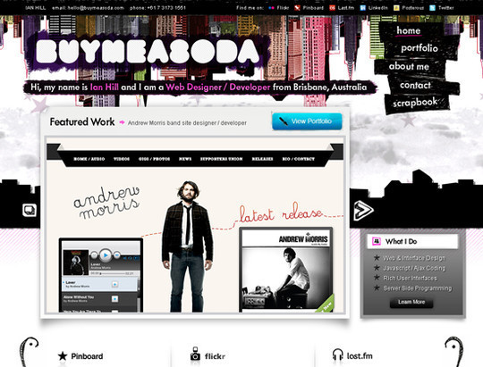 50 Hand Drawn Website Designs For Your Inspiration 26