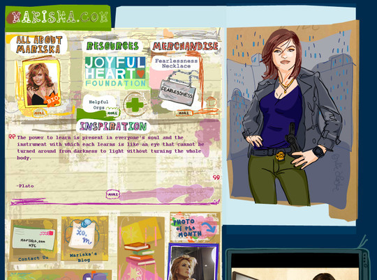 50 Hand Drawn Website Designs For Your Inspiration 33