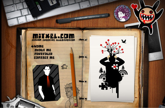 50 Hand Drawn Website Designs For Your Inspiration 36