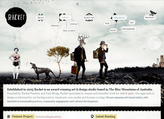50 Hand Drawn Website Designs For Your Inspiration 37
