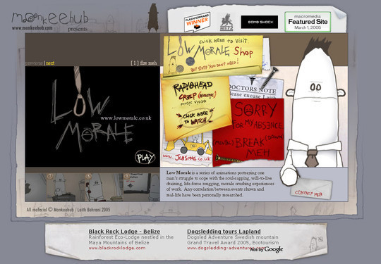 50 Hand Drawn Website Designs For Your Inspiration 49