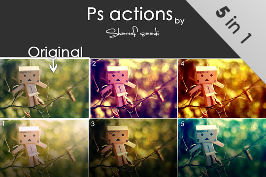 50 Extremely Useful And Time Saving Free Photoshop Action Sets 10