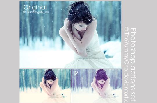 50 Extremely Useful And Time Saving Free Photoshop Action Sets 21