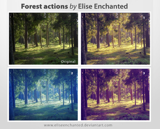 50 Extremely Useful And Time Saving Free Photoshop Action Sets 11