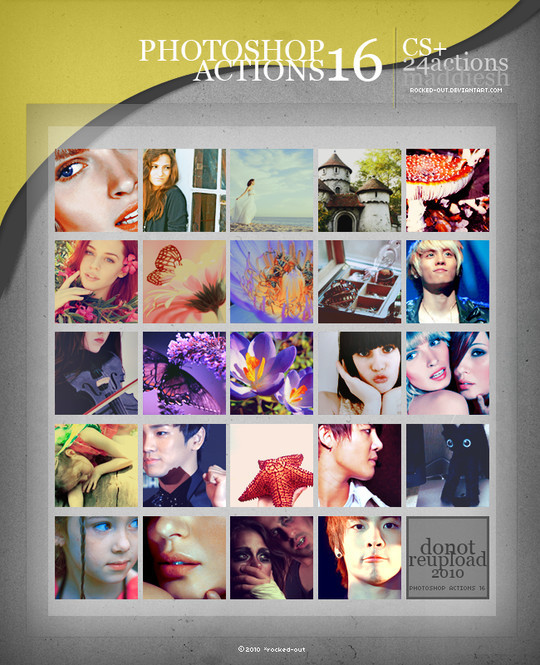 50 Extremely Useful And Time Saving Free Photoshop Action Sets 28