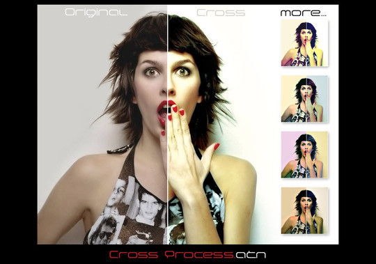 50 Extremely Useful And Time Saving Free Photoshop Action Sets 8