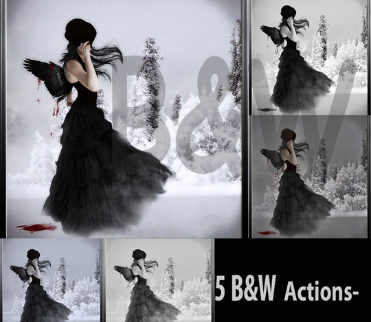 50 Extremely Useful And Time Saving Free Photoshop Action Sets 34